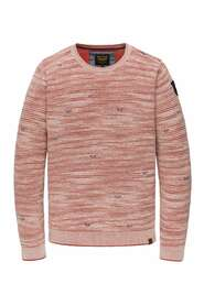 Crewneck mineral red