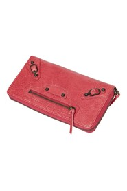 Pre-owned Classic Continental Zip Around Wallet