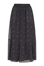 Paisley Night Gipsy Skirt