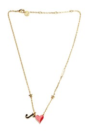 Pre-owned Dioramour Necklace Metal Brass