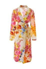 Charly Floral Tie-Front Wrap Dress