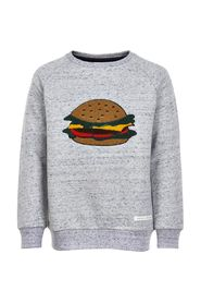 THE NEW - Izzy Sweatshirt (TN1883) - Light Grey Melange / Burger