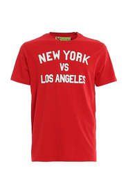 NEW YORK VS LOS ANGELES T-SHIRT