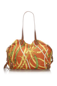 Printed Canvas Tote Fabric