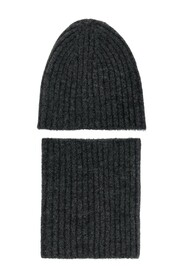Hat & tube scarf set