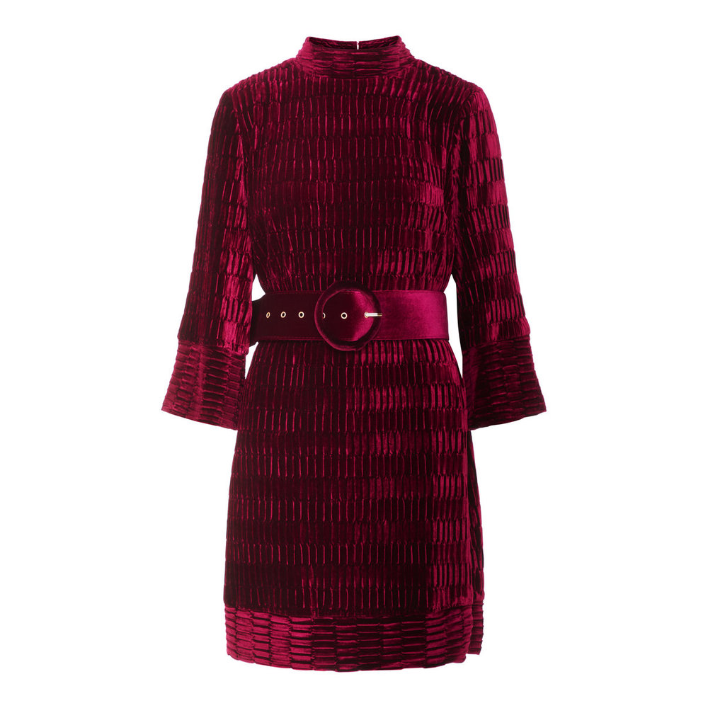 Dress Red belt detailed