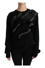 Panther Fur Wool Sweater