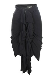 Corset Skirt With Fishtail Effect
