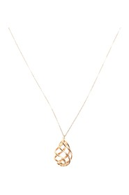18K Tiffany Pendant Necklace Metal 18K