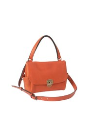 Double side pleated bag