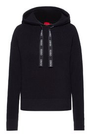 Sessamee Hooded Knit Sweater