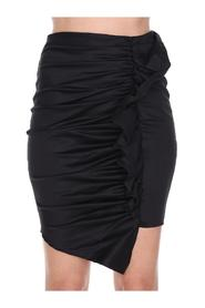 SKIRT WITH ROUCHES