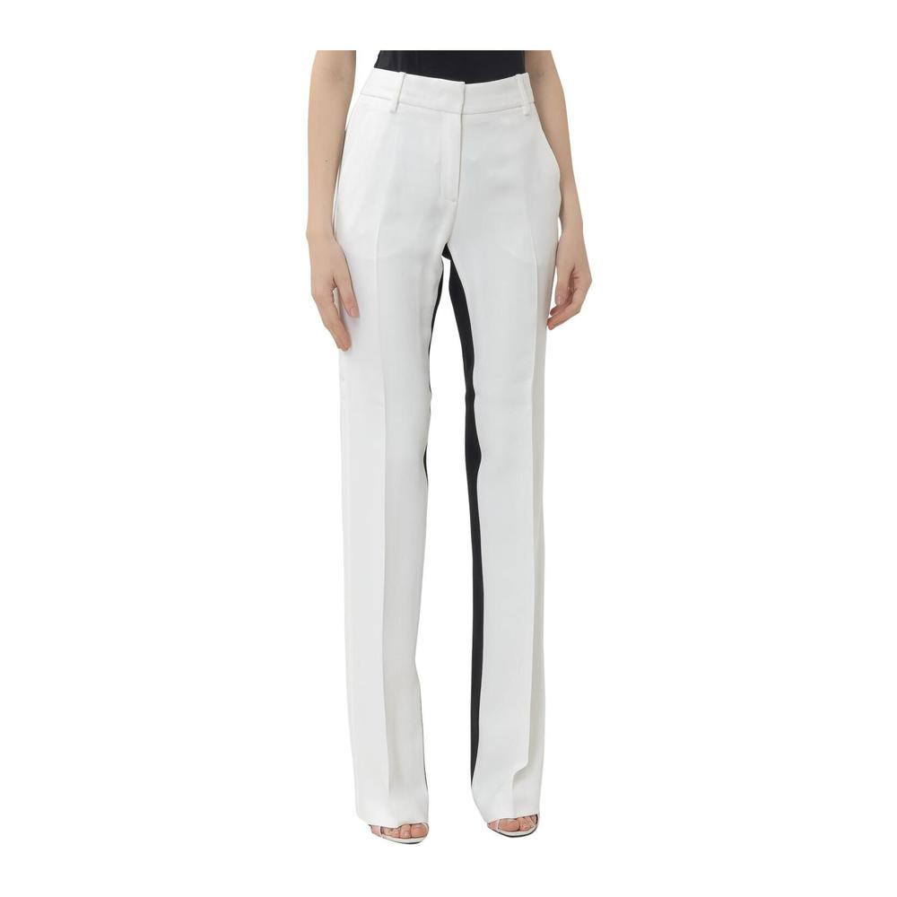 Trousers with Contrast Bands