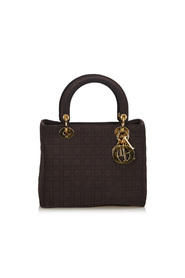 Cannage Nylon Lady Dior Handbag