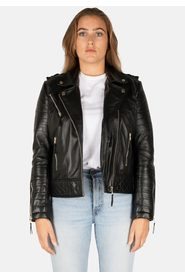 SHINE PERFECTO LEATHER JACKET
