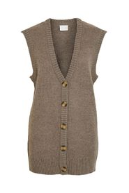 IHIMA LONG KNIT VEST
