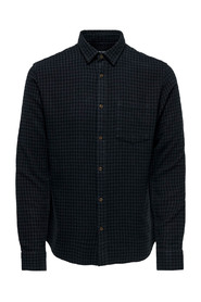 THEO LS BRUSHED FLANNEL SHIRT 187679
