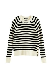 Striped Chunky Knitted Sweater