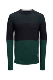 Knitted Pullover Colour blocking