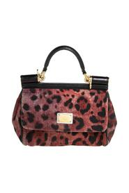 Canvas Small Miss Sicily Top Handle Bag
