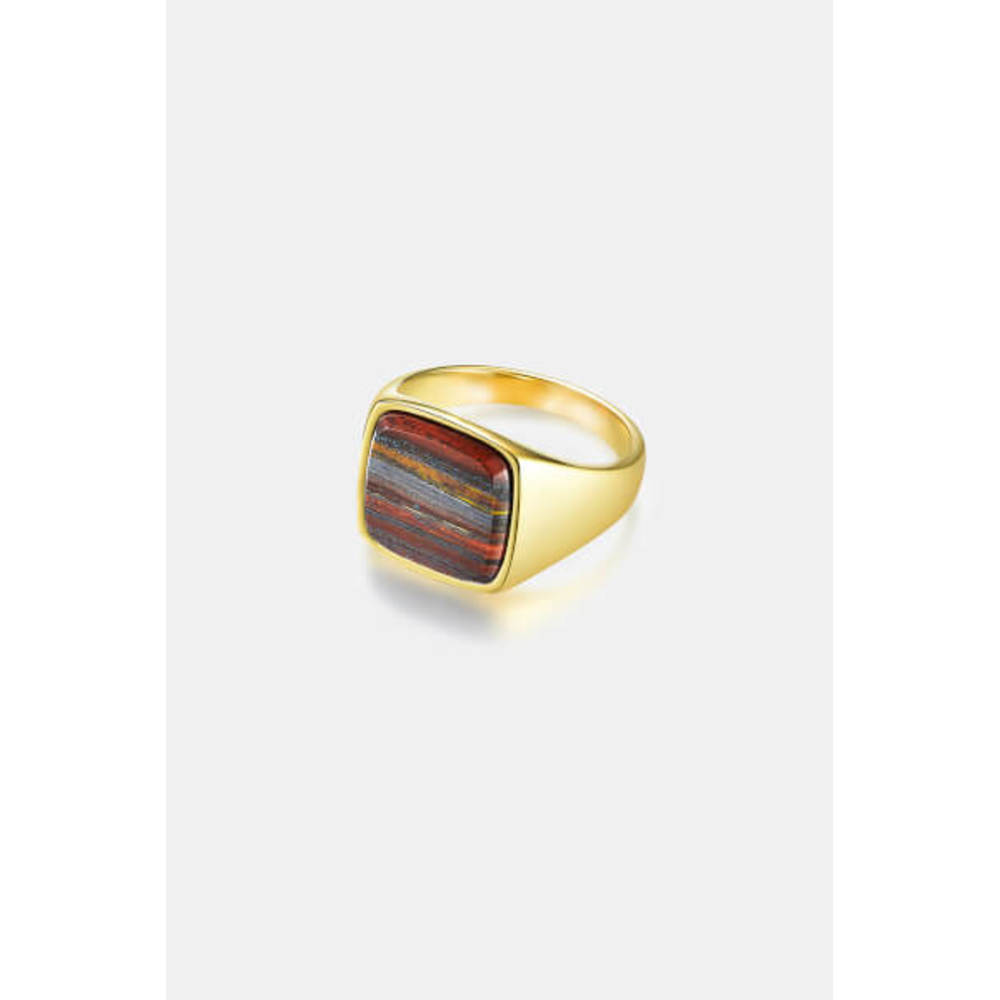 Iron Tigereye Signature Ring