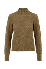 Ermine Yas Briva Ls Knit Pullover S. Noos Drops