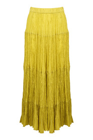 FLOUNCE SKIRT IN FROISSE`