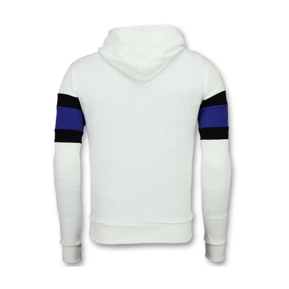 White/Black Bluza z kapturem | Enos | Bluzy z kapturem - Najnowsza zniżka 0KIAk