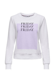 ONLWEEKDAY LIFE REG L/S O-NECK SWT