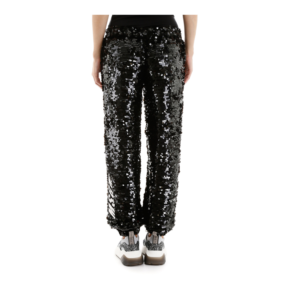 Black Sequins trousers  MSGM  Luźne spodnie  Showroom.pl qtetz