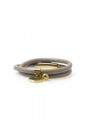 Bud to Rose - Trace grey/gold armbånd