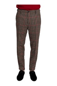 Houndstooth Tailored Trousers