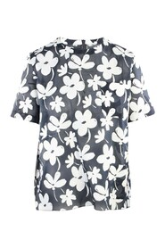 Floral Top -Pre Owned Condition Excellent IT42