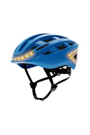 Illuminated sports bike helmet