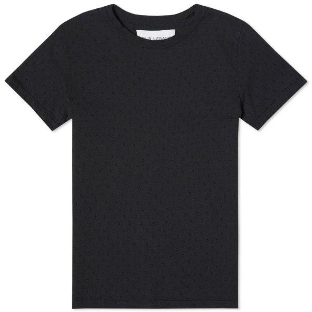 Perfect Tee Overdyed Jacquard Dot