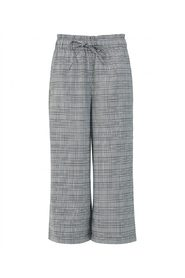 LEAF CHECK TROUSERS