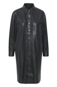 CrownKB Leather Kjole