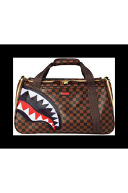 CHECKERED SHARK PET CARRIER BAG
