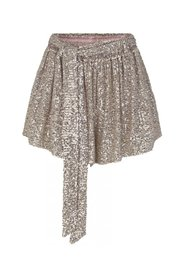 WILLOW SHORTS - Champagne Sequins