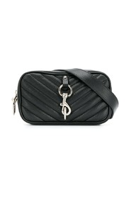 Quilted camera belt bag