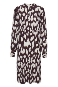 Cristy Kjole Animal print