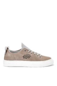 Aria anthracite leather sneaker