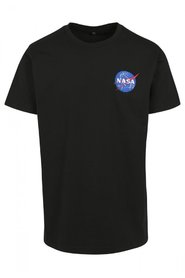 NASA Logo Embroidery T-shirt | Sort