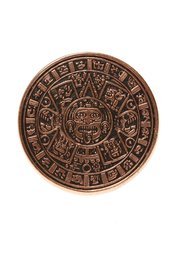 Mayan Calendar brass ring