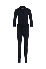 Studio Anneloes jumpsuit model Angelique kleur black met 3/4 mouw