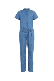 Jumpsuit lightweight woven denim