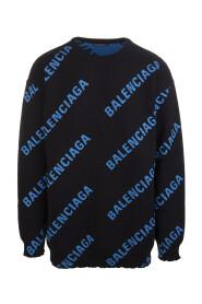 Sweater med logo