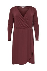 Long Sleeved dress Curvy wrap