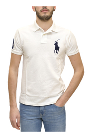 Custom Slim-Fit piqué polo shirt