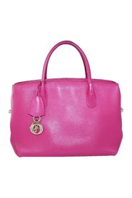 Open Bar Leather Tote